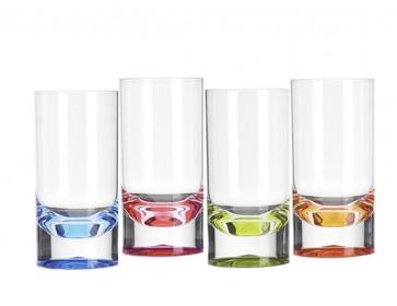 Bunte Acryl 300ml Tumbler / Wassergläser in Echtglasoptik