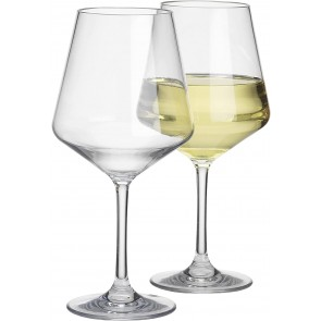 Savoy Weinglas, transparent, 2 Stück